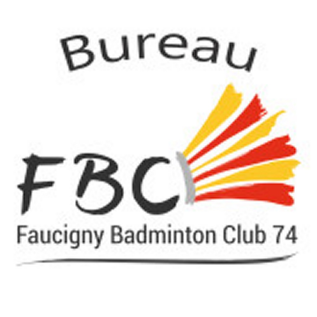 Information du bureau badminton club FBC74