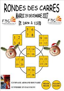 RONDE DES CARRES MARDI 19 DECEMBRE 2017