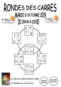 RONDE DES CARRES 8 OCTOBRE 2019
