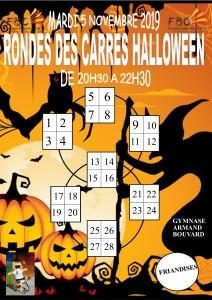 RONDE DES CARRES HALLOWEEN 5 11 2019 B