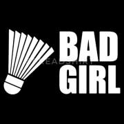 bad-girl-joue-une-chemise-de-badminton-sweat-ras-du-cou-premium-femme